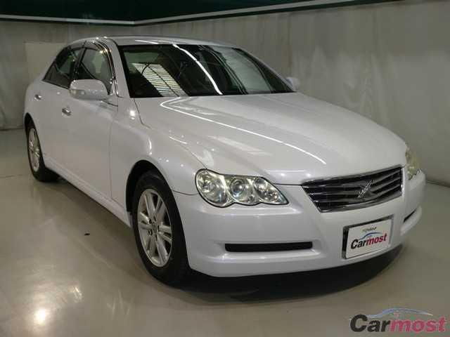 2008 Toyota Mark X CN 02737302 (Reserved)