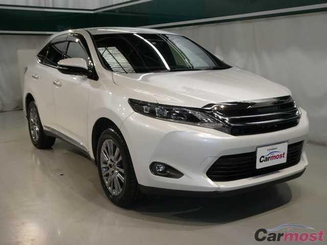 2014 Toyota Harrier CN 02845032 (Reserved)
