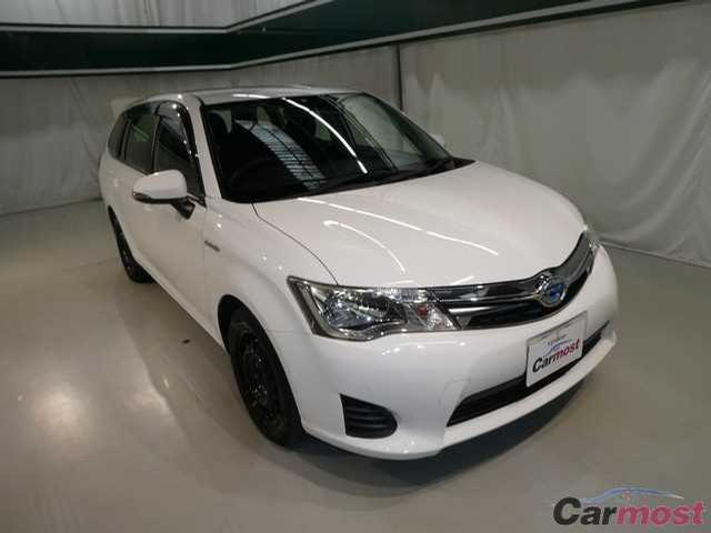 2014 Toyota Corolla Fielder CN 32073367 (Reserved)