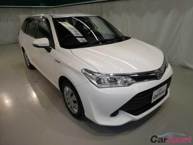 2015 Toyota Corolla Fielder CN 32084016 (Reserved)