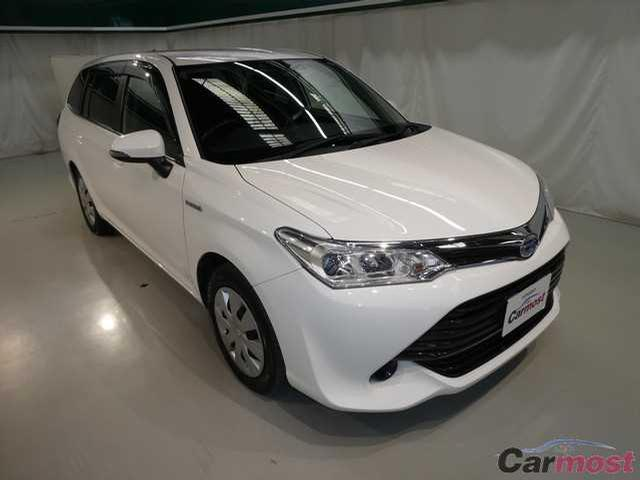 2015 Toyota Corolla Fielder CN 32113768 (Reserved)