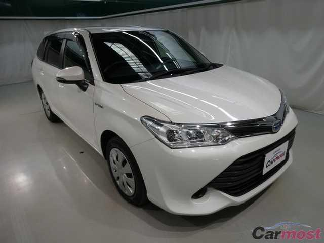 2015 Toyota Corolla Fielder CN 32120071 (Reserved)