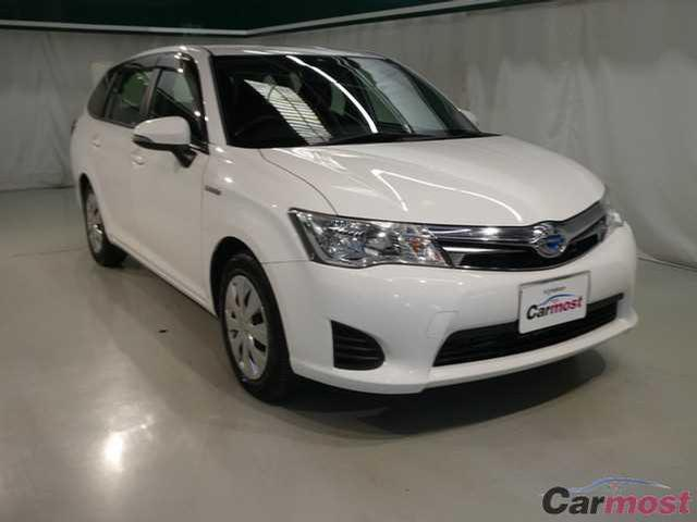 2013 Toyota Corolla Fielder CN 32147832 (Reserved)